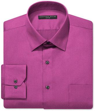 Geoffrey Beene Fitted Sateen Dress Shirt