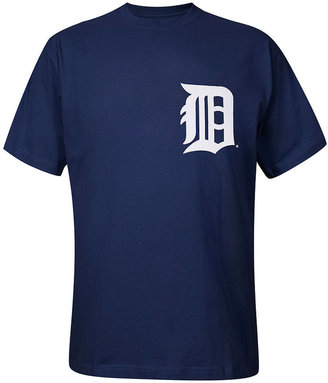 Majestic Big and Tall MLB T Shirt, Detroit Tigers Team Tee