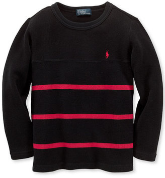 Ralph Lauren Top, Boys Long-Sleeve Crew Neck Shirt