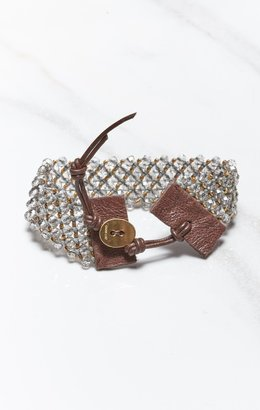 Chan Luu BRACELET WITH CHINESE CRYSTAL BEADS
