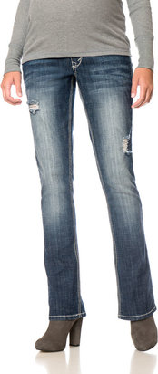 Motherhood Wallflower Secret Fit Belly 5 Pocket Slim Boot Maternity Jeans