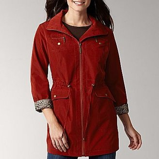 Liz Claiborne Hooded Rain Jacket