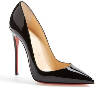 Christian Louboutin 'So Kate' Pointy Toe Pump $675 thestylecure.com