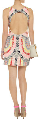Mara Hoffman Open-back printed crepe dress