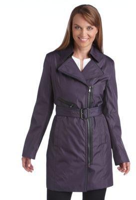 Marc New York ANDREW MARC Asymmetrical Zip Coat
