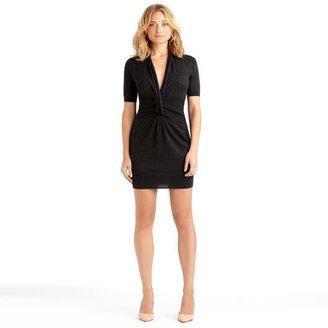 Rachel Roy Asymmetric Twist Dress