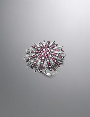 David Yurman Starburst Ring, Pink Spinel