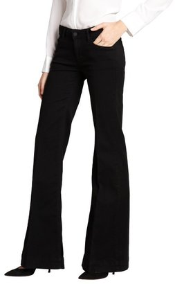 Siwy black stretch denim 'Penelope' flare jeans