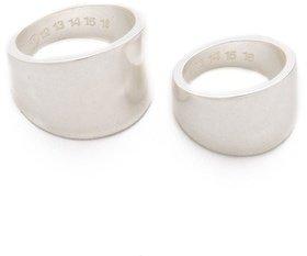 Maison Martin Margiela Two Ring Set