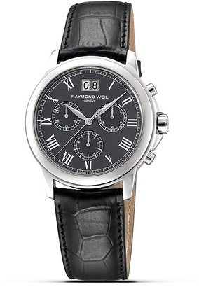"""Raymond Weil Tradition"""" Stainless Steel Watch, 39mm"""