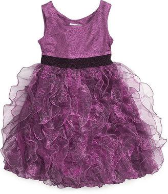 Bonnie Jean Girls Dress, Girls Organza Ruffle Dress
