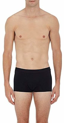 Hanro Men's Micro Touch Boxer Briefs - Black