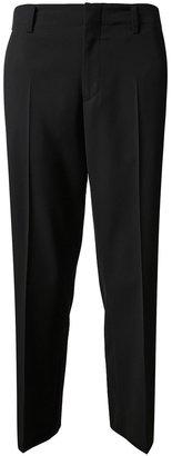 Jil Sander Cropped Virgin Wool Trousers