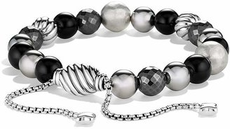David Yurman DY Elements Bracelet with Black Onyx and Hematine