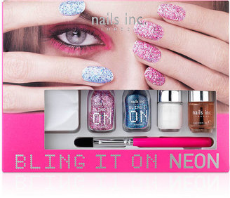 Nails Inc Bling It On Neon Collection