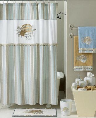 "Avanti By the Sea"" Shower Curtain Hooks"