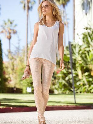 Victoria's Secret Siren Animal-print Skinny Jean