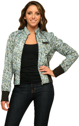 Members Only Floral Cotton Classic Bomber