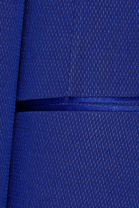 Maison Martin Margiela Satin-trimmed piqué tuxedo jacket