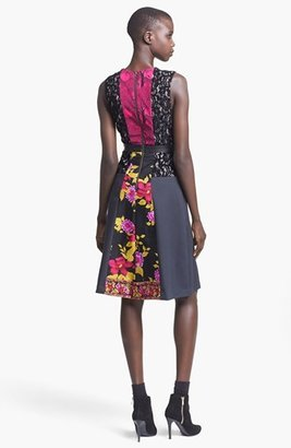 Tracy Reese Sleeveless Patchwork Frock