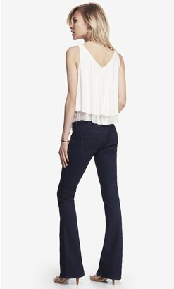 Express Low Rise Slim Flare Jean