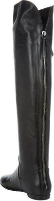 Giuseppe Zanotti Women's Back-Zip Over-the-Knee Boots-Black