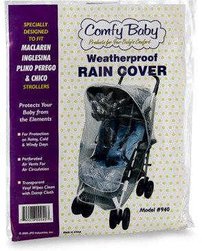 Maclaren Rain Cover for Maclaren, Inglesina, Pliko Perego, and Chicco Strollers