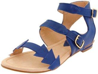 Samanta Women's Tina Ankle-Strap Flat