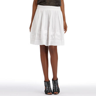 Rachel Roy Bird Embroidery Skirt