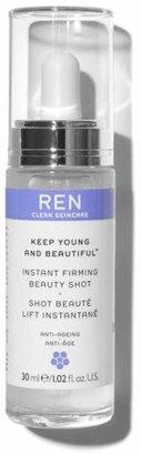 REN Keep Young & Beautiful Instant Firming Beauty Shot