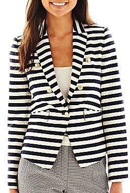 Mng by Mango® Wide-Striped Jacket