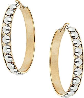 Topshop Large Disk Hooped Earrings