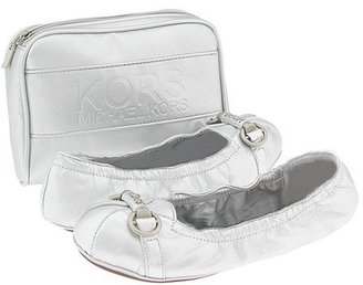 Michael Kors KORS Kids - Miss Penny (Toddler/Youth) (Metallic Silver)