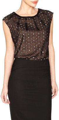 The Limited Sleeveless Eyelet Top