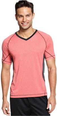 INC International Concepts Shirt, Active Ringer V-Neck Tee