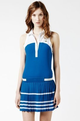Lacoste Technical Pique Pleated Tennis Skirt