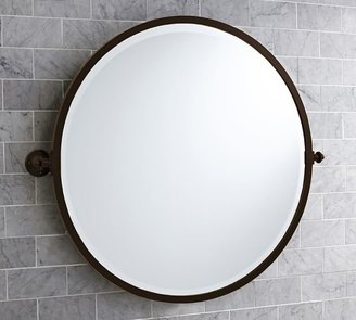 Pottery Barn Kensington Round Pivot Mirror