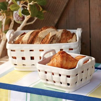 Williams-Sonoma Ceramic Basket, Small
