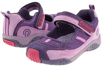pediped Dakota Flex (Toddler/Little Kid) (Purple) Girl's Shoes
