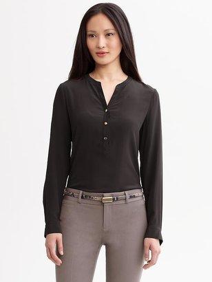 Banana Republic Lindsay silk blouse