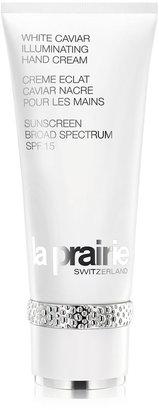 La Prairie White Caviar Illuminating Hand Cream SPF 15, 3.4 oz.