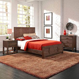 JCPenney Weatherford Bed, Nightstand and Chest
