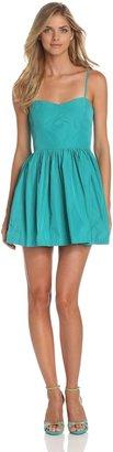 BCBGeneration Women's PFY6X669 Cocktail Sleeveless Dress - Green - Vert (Amazon) - 6 (Brand size: 0)