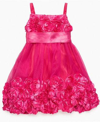 Bonnie Jean Girls Dress, Girls Rosette Dress