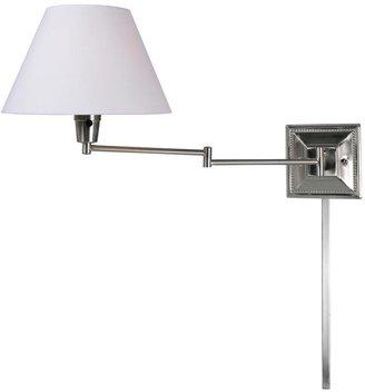 Kenroy Home Denman 13 in. 1-light Steel Wall Swing Arm Lamp