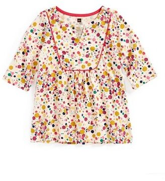 Tea Collection 'Confetti Tile' Knit Tunic (Little Girls & Big Girls)