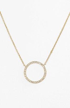 Women's Nadri Circle Pendant Necklace $48 thestylecure.com