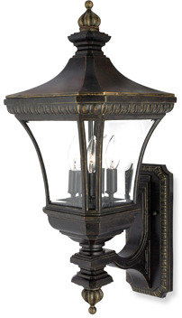 Bed Bath & Beyond Imperial Bronze Devon 3 Light Outdoor Fixture