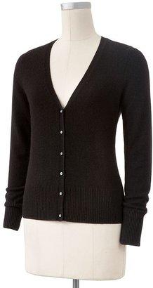 Apt. 9 cashmere cardigan sweater