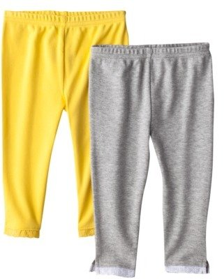 Carter's Just One You by Infant Toddler Girls' 2-Pack Pant - Yellow/Grey